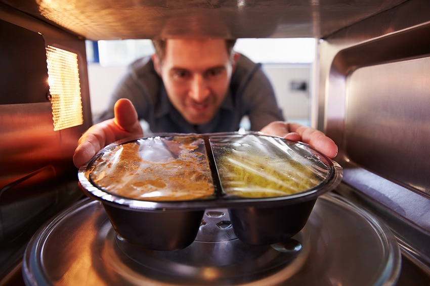 New microwave packaging provides even reheating