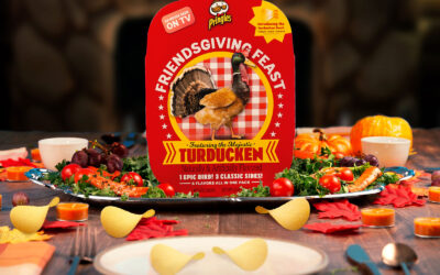 Whether you love the Turducken or hate it, this packaging is a touchdown!