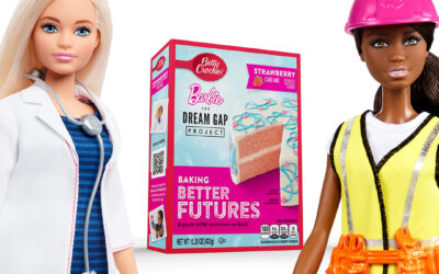 Betty Crocker Teams Up with Barbie's Dream Gap Project